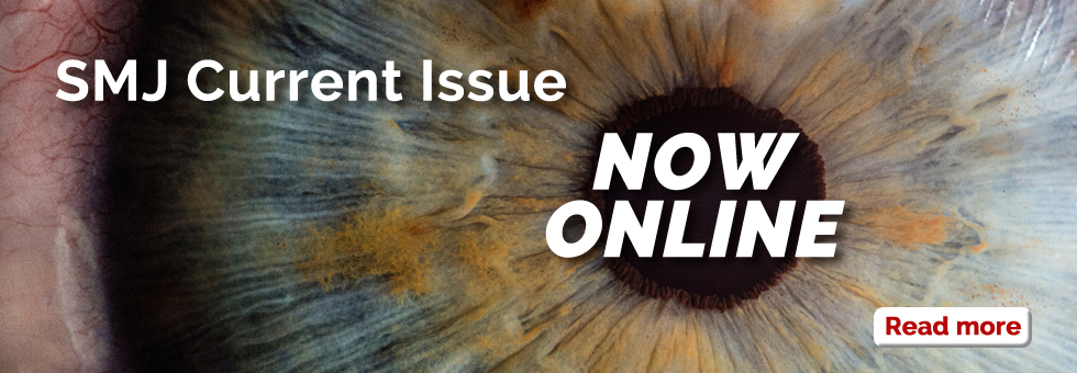 Singapore Medical Journal Current Issue is now online!